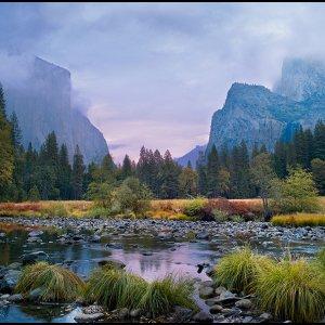 Merced River at Dawn, Yosemite