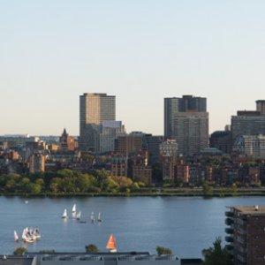 Boston Panorama and crop