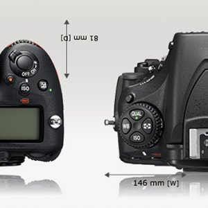 D500 and D810