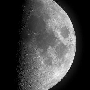 Moon and Telescope