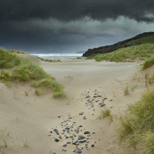 Sandwood Bay, Sutherland. It was wild!
