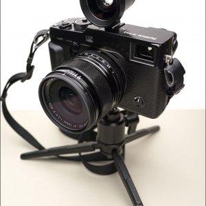 Fuji X Pro2, 14mm Lens, Sigma VF-51 Finder