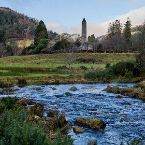 Glendalough from the bridge