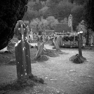 Glendalough - B&W