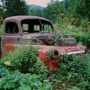Old Truck in Hope Alaska