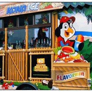 Jay Ofsthun Memorial Car Show Anchorage 2019 - Kona Ice Refreshments