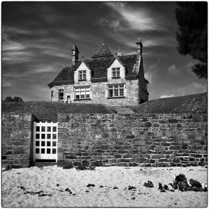 house on the beach